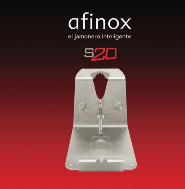 Ya disponemos el nuevo Soporte Jamonero Afinox en Acero Inoxidable Macizo S20